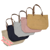 View Extra Image 2 of 2 of Field & Co. 16 oz. Cotton Book Tote - Embroidered