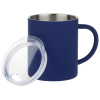 View Extra Image 1 of 2 of Halcyon Stainless Coffee Mug with Lid - 14 oz.
