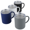 View Extra Image 2 of 2 of Halcyon Stainless Coffee Mug with Lid - 14 oz.