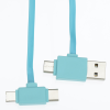 View Extra Image 3 of 4 of Color Pop Duo Charging Cable with Phone Stand Case