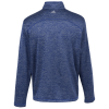View Extra Image 1 of 2 of adidas 3 Stripe Brushed Heather 1/4-Zip Pullover - Men's