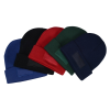 View Extra Image 1 of 1 of Cuffed Knit Beanie with Patch - Embroidered
