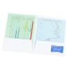 View Extra Image 2 of 2 of Designer Paper Two-Pocket Presentation Folder - Band
