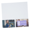 """View Extra Image 2 of 2 of Full Color Paper Two-Pocket Mini Folder - 9-1/2"""" x 5"""""""