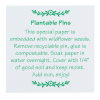 View Image 5 of 5 of Plantable Pin - Watering Can