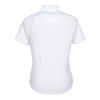 View Extra Image 1 of 2 of Greg Norman Play Dry Mock Neck 1/4-Zip Polo - Ladies'