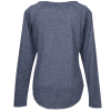 View Extra Image 1 of 2 of Voltage Tri-Blend Wicking LS T-Shirt - Ladies'