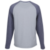 View Extra Image 1 of 2 of Voltage Tri-Blend Wicking LS T-Shirt - Men's - Colorblock