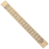 View Extra Image 1 of 1 of Double Bevel Ruler - 12 inches