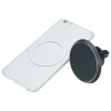 View Image 3 of 7 of Magnetic Auto Vent Wireless Car Charger - 24 hr