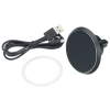 View Image 4 of 7 of Magnetic Auto Vent Wireless Car Charger - 24 hr