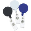 View Extra Image 3 of 3 of Retracting Badge Holder - Round - Opaque - 24 hr
