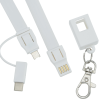 View Image 3 of 6 of Layton Duo Charging Cable Lanyard