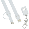View Image 4 of 6 of Layton Duo Charging Cable Lanyard