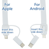 View Image 6 of 6 of Layton Duo Charging Cable Lanyard