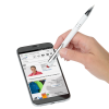View Extra Image 2 of 3 of Textari Soft Touch Stylus Metal Pen - White