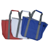 View Extra Image 3 of 3 of Game On Tarpaulin Cooler Tote- 24 hr