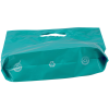 "View Extra Image 1 of 1 of Recyclable Reinforced Handle Plastic Bag - 13"" x 9"""