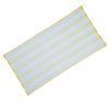 View Extra Image 1 of 2 of Cabana Striped Microfiber Beach Towel - 30 inches x 60 inches