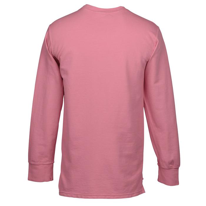 de9b3618d544d8 4imprint.com  Comfort Colors French Terry Pocket Sweatshirt - Screen  146681-S