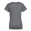 View Extra Image 2 of 2 of Badger Sport Tri-Blend Performance V-Neck T-Shirt - Ladies' - Screen