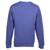 View Extra Image 1 of 2 of Hanes ComfortWash Garment-Dyed Sweatshirt - Embroidered