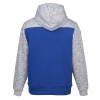 View Extra Image 2 of 2 of J. America Melange Colorblock  Hoodie - Men's - Embroidered