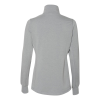 View Extra Image 1 of 1 of J. America Omega Stretch 1/4-Zip Pullover - Ladies'