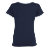 View Extra Image 2 of 2 of LAT Fine Jersey Soccer T-Shirt - Ladies' - Embroidered