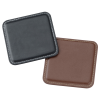 View Extra Image 1 of 2 of Vintage Square Bonded Leather Coaster