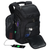 View Extra Image 4 of 6 of Travis & Wells Velocity Backpack with USB Port - Embroidered