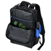 View Image 8 of 8 of Ollie Laptop Backpack with Duo Charging Cable - Embroidered