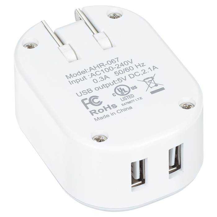 4imprint com  delray light-up usb wall charger