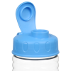 View Image 3 of 3 of Clear Impact Halcyon Water Bottle with Flip Lid - 24 oz.