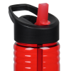 View Extra Image 2 of 3 of Halcyon Water Bottle with Two-Tone Flip Straw - 24 oz.