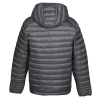 View Extra Image 1 of 3 of Hudson Quilted Hooded Jacket - Men's
