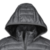 View Extra Image 2 of 3 of Hudson Quilted Hooded Jacket - Men's