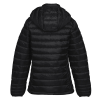 View Extra Image 1 of 3 of Hudson Quilted Hooded Jacket - Ladies'