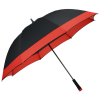 "View Extra Image 4 of 4 of Two Tone Windproof Golf Umbrella - 60"" Arc"