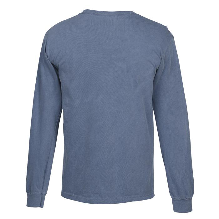 4c49405fc 4imprint.com: Comfort Colors Garment Dyed 6.1 oz. LS T-Shirt - Screen  147306-LS-S