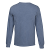 View Extra Image 2 of 2 of Comfort Colors Garment-Dyed 6.1 oz. LS T-Shirt - Embroidered