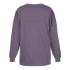 View Extra Image 2 of 2 of Comfort Colors Garment-Dyed LS Drop Shoulder T-Shirt - Embroidered