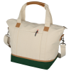 View Extra Image 3 of 3 of Northeast 16 oz. Cotton Weekender Duffel Tote
