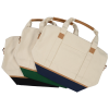 View Extra Image 1 of 3 of Northeast 16 oz. Cotton Weekender Duffel Tote - 24 hr