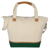 View Extra Image 2 of 3 of Northeast 16 oz. Cotton Weekender Duffel Tote - 24 hr