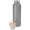 View Extra Image 2 of 2 of Accord Vacuum Stainless Bottle with Wood Lid - 21 oz. - 24 hr