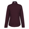 View Extra Image 1 of 2 of Storm Creek Feather Sweater 1/2-Zip Pullover - Ladies'