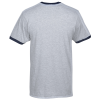 View Extra Image 1 of 2 of American Apparel Fine Jersey Ringer T-Shirt