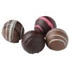 View Image 3 of 3 of Decadent Truffle Box - 4 Piece