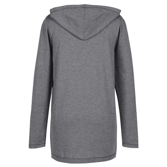 4imprint.com  Tri-Blend Hooded Cardigan 147743-L a4d58f83d